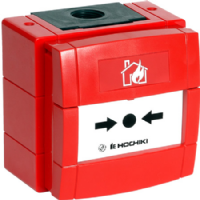 HOCHIKI CCP-W Weatherproof Conventional Call Point Red
